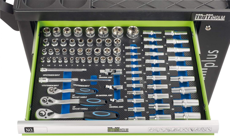 Gewerbliche Werkzeuge Trutzholm Werkstattwagen Premium XXL 12994 im Test, Bild 3