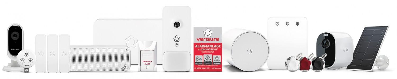 Smart Home Alarmanlage Verisure Alarmsystem mit ZeroVision im Test, Bild 1
