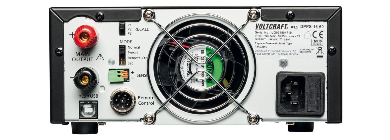 Zubehör Elektrowerkzeuge Netzbetrieb Voltcraft DPPS-16-60 im Test, Bild 2