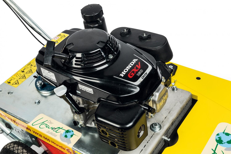 Kehrmaschinen Westermann WKB 660 Honda im Test, Bild 7