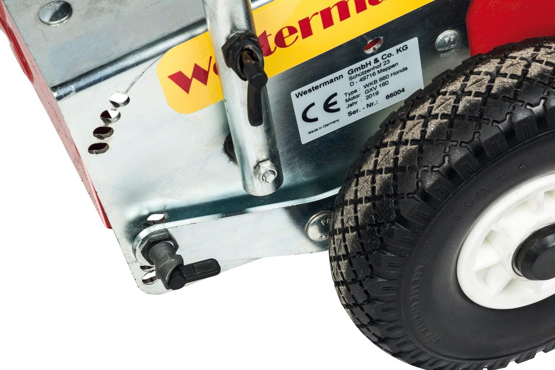 Kehrmaschinen Westermann WKB 660 Honda im Test, Bild 10