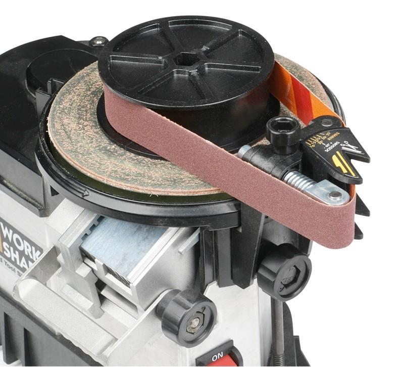 Sonstige Elektrowerkzeuge Netzbetrieb Work Sharp Messerschleifeinrichtung für das Schleifgerät Work Sharp WS 3000 im Test, Bild 1