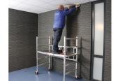 Leitern AC Steigtechnik Aluminium-Zimmerfahrgerüst Kompakt S im Test, Bild 1