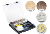 Zubehör Baustoffe AGT Reparatur-Komplettset für Holz-, Kunststoff- und Steinoberflächen, NX-5346, AGT Reparatur-Set WRS-11.fks für Fliesen, Kacheln & Steingut, NX-5230 im Test , Bild 1