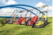 Handrasenmäher-Elektro: Akku-Rasenmäher für kleine und große Rasenflächen, Bild 1