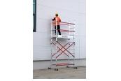 Leitern Alu-Worx Leitergerüst/Leiter Stella STL206 im Test, Bild 1