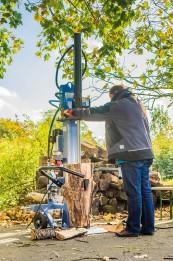 Holz-Spalter Bernado HS13 ZE im Test, Bild 1