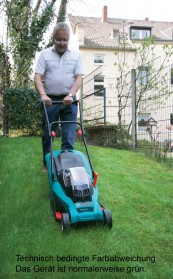 Handrasenmäher-Elektro Bosch Rotak 34 LI im Test, Bild 1