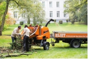 Gewerbliche Werkzeuge Eliet Mega Prof Häcksler im Test, Bild 1