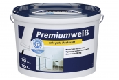 Innenfarben-Wand FLT Premiumweiß im Test, Bild 1