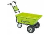 Sonstige Gartengeräte Greenworks 40-V-Akku-Schubkarre 7400007 im Test, Bild 1