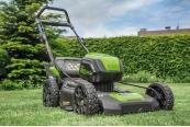 Handrasenmäher-Elektro Greenworks 80-V-Mäher 2501407 GL im Test, Bild 1
