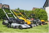 Handrasenmäher-Benzin Grizzly BRM 51 - 163 BSA InStart, Mowox PM 4335 SE, Zipper ZI-DRM 51, Baricus PLYL-20, EGO 2120E-SP, Greenworks 2504707, Hecht 5046, Ikra IAM 40-4625 S, Stiga combi 50 S AE im Test , Bild 1