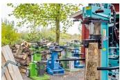 Holz-Spalter: Groß und stark - Sechs 10-t-Holzspalter im Vergleich, Bild 1