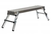 Leitern Günzburger Steigtechnik ML Aluminium-Arbeitsdiele mit Klappfüßen im Test, Bild 1