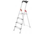 Leitern Hailo L80 ComfortLine Alu-Sicherheits-Stehleiter, Hailo TP1 Treppenpodest im Test , Bild 1