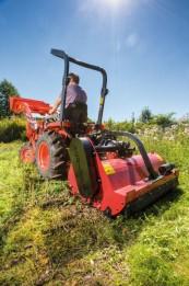 Aufsitzmäher Kubota Traktor B1620 im Test, Bild 1