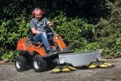 Sonstige Gartengeräte Kwern Greenbuster Rider 200 im Test, Bild 1