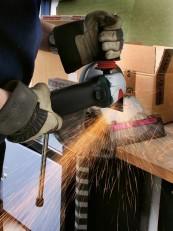 Trennschleifer Metabo Einhandwinkelschleifer W8-125 -Quick im Test, Bild 1