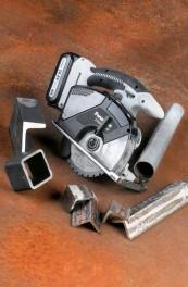 Hand-Kreissägen Akku Panasonic Akku-Metallhandkreissäge EY4542 14,4 V im Test, Bild 1