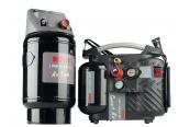 Kompressoren und Druckluftwerkzeuge Rowi DKP 1100/5/1 OF Set, Rowi DLB 8/14/1 im Test , Bild 1