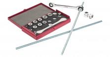 Handwerkzeug-Sets Westfälische Gesenkschmiede 28-in-1-Durchsteck-Doppelring- Ratschenschlüssel-Satz im Test, Bild 1