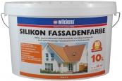 Aussenfarben-Wand Wilckens Silikon Fassadenfarbe im Test, Bild 1