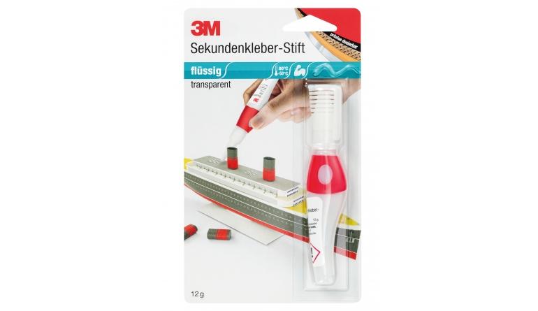 Zubehör Baustoffe 3M Sekundenkleber-Stift im Test, Bild 1