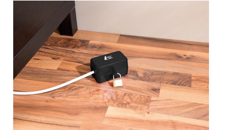 Zubehör Haustechnik AGT Abschließbare Stromstecker-Schutzbox (NX6794) im Test, Bild 1
