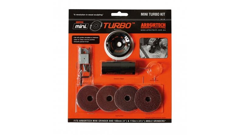 Zubehör Elektrowerkzeuge Netzbetrieb Arbortech Mini Turbo Kit Frässcheibe im Test, Bild 1