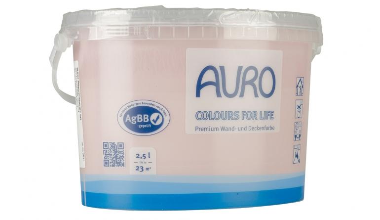 Innenfarben-Wand Auro Colours for Life im Test, Bild 1