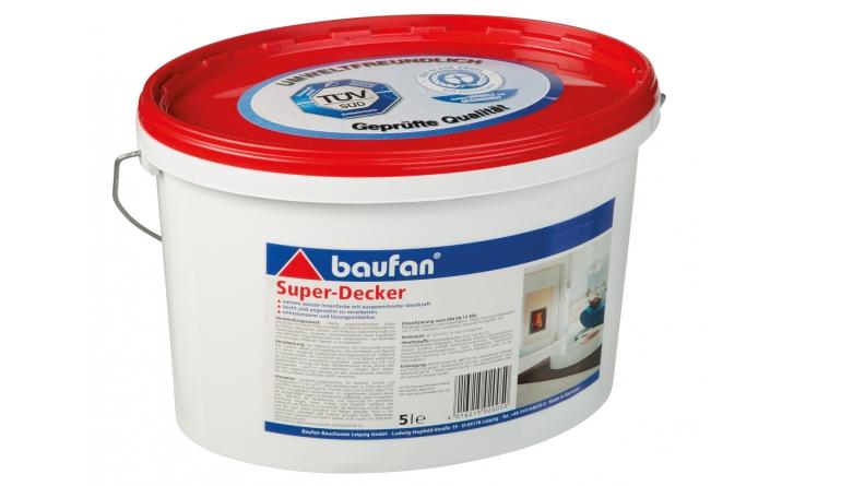 Innenfarben-Wand Baufan Super-Decker im Test, Bild 1