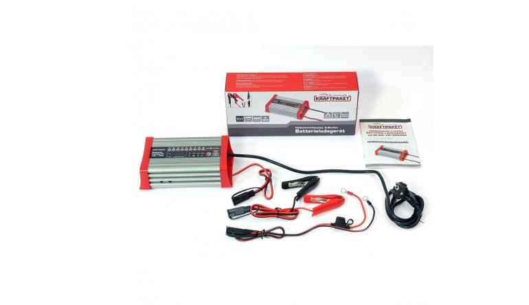 Zubehör Haustechnik Dino Kraftpaket Automatisches Baterieladegerät 12V/20A Art.-Nr.: 136320 im Test, Bild 1