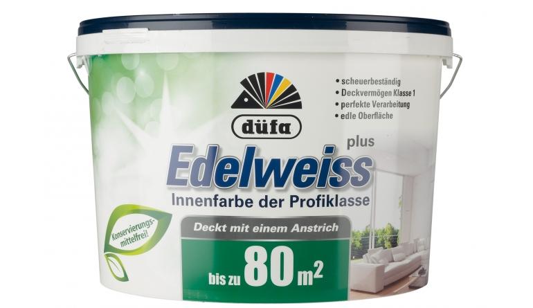 Innenfarben-Wand düfa Edelweiss im Test, Bild 1