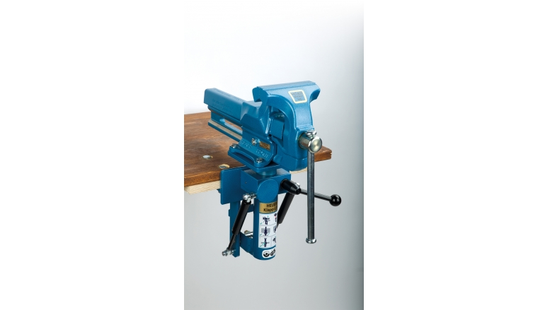 Gewerbliche Werkzeuge Heuer Schraubstock 140 mm im Test, Bild 1