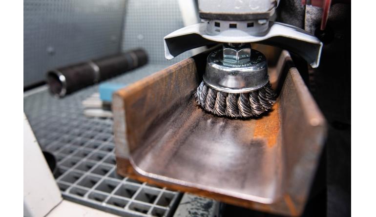 Gewerbliche Werkzeuge Klingspor Drahtbürste BK 600 Z / BT 600 Z im Test, Bild 1