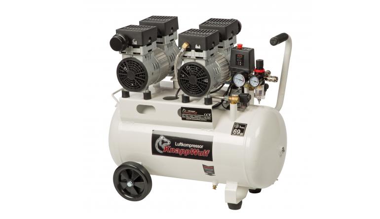 Kompressoren und Druckluftwerkzeuge Knappwulf KW2050 S im Test, Bild 1