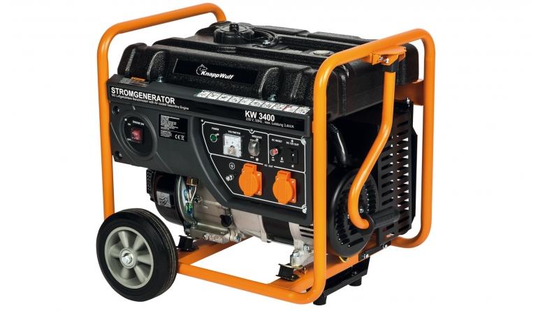 Generatoren Knappwulf KW3400 im Test, Bild 1