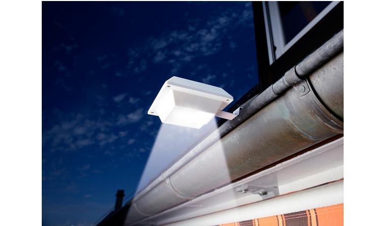 Test Beleuchtung - LUNARTEC 3er-Set Solar-LED-Dachrinnenleuchten