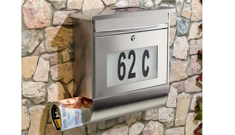 Test Rund ums Haus - LUNARTEC Edelstahl-Briefkasten mit ...