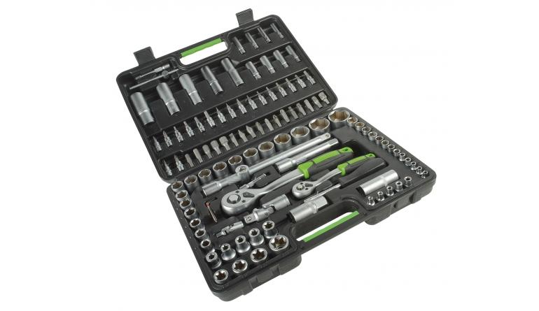 Handwerkzeug-Sets Starkmann Blackline 108-teiliges Ratschenset im Test, Bild 1