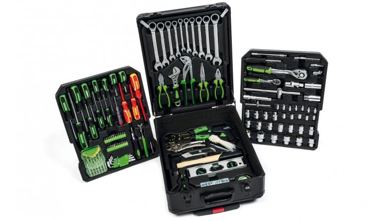 Werkzeugkoffer Starkmann Blackline 399-Teile-Werkzeugset (neue Version) im Test, Bild 1