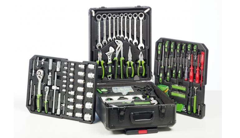 Werkzeugkoffer Starkmann Blackline 399-Teile-Werkzeugset im Test, Bild 1