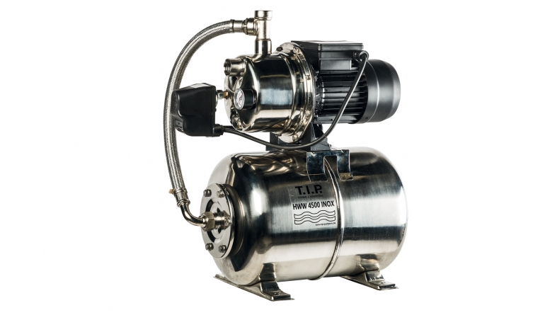 Hauswasserwerke T.I.P. HWW 4500 INOX im Test, Bild 1
