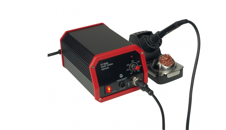 Lötkolben Toolcraft ST-100A im Test, Bild 1