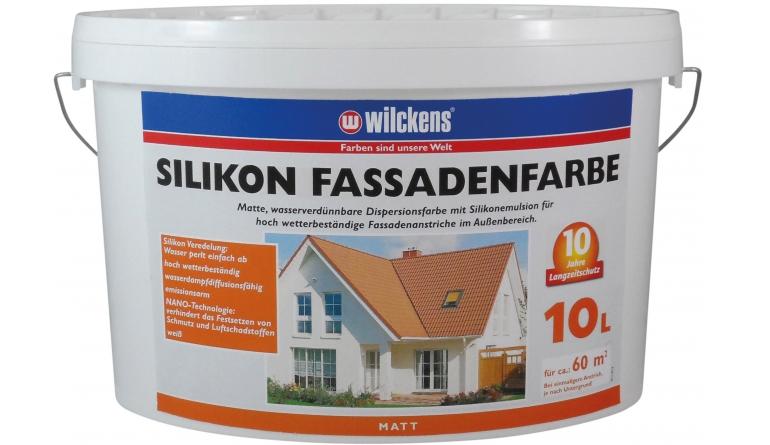 Turbo Test Aussenfarben-Wand - Wilckens Silikon Fassadenfarbe - sehr gut MG14
