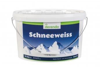 Innenfarben-Wand Derendo Schneeweiss im Test, Bild 1
