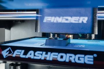 Stationäre Maschinen Flashforge Finder 3D-Drucker im Test, Bild 1