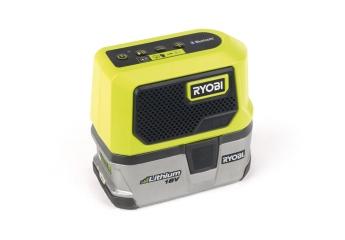 Rund ums Haus Ryobi Bluetooth-Lautsprecher RBTM18 im Test, Bild 1