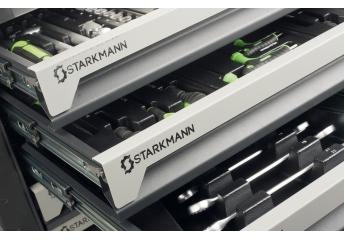 Sonstige Werkstatteinrichtung Starkmann Premium-Werkzeugwagen mit Bestückung im Test, Bild 1